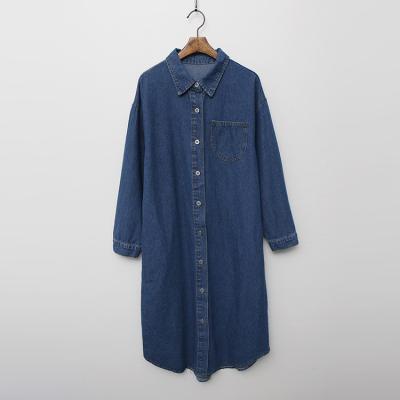 Moly Denim Long Shirts Jacket