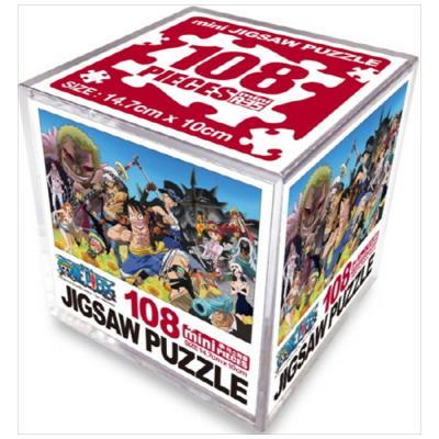 원피스 미니 직소퍼즐 108pcs: 뉴크루 [퍼즐 ]