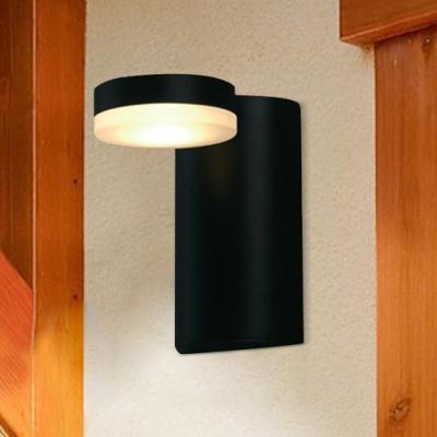 텀블러 벽등 (블랙,화이트) (LED전구포함)