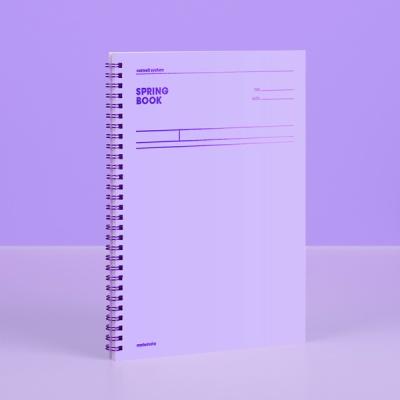 [컬러칩] 스프링북 코넬 - 바이올렛 모트모트