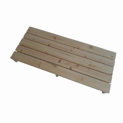 삼나무 원목 발받침대 더블 발판