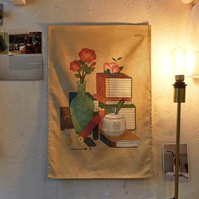 민화 시리즈 패브릭 포스터 / 가리개 커튼