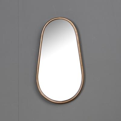 골드 철재 타원 거울 51cm