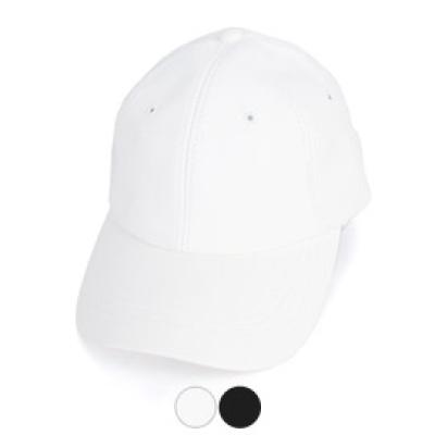[디꾸보]무지 레자 볼캡 바이저 모자 H-HN226R