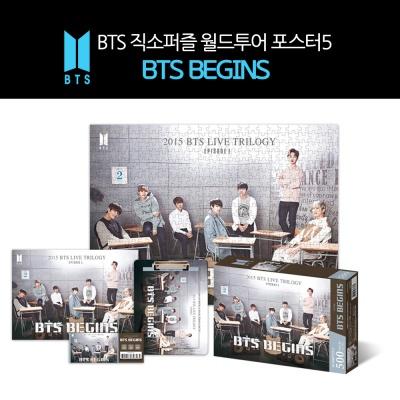 BTS 직소퍼즐 월드투어 포스터5 BTS BEGINS