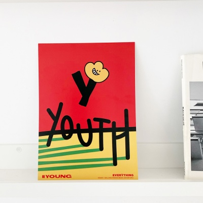 [KEEERI x BFMA] EVERYTHING 포스터 A4,A3 - YOUNG