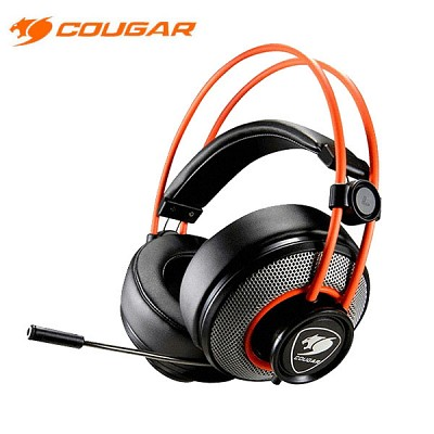 COUGAR 게이밍 헤드셋 COUGAR IMMERSA (노이즈 제거 마이크 / 40mm 네오디뮴 마그넷 드라이버 / 컨트롤 유닛)
