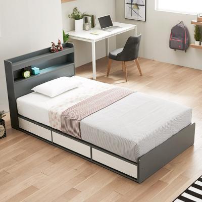 [노하우] 베리떼 LED 3단 서랍형 슈퍼싱글 침대