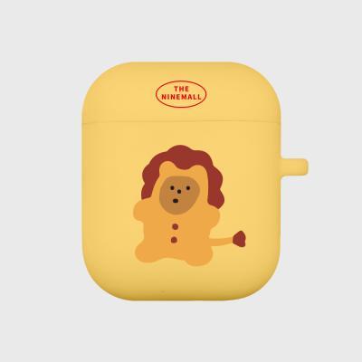 lion gummy 에어팟 케이스 [yellow]