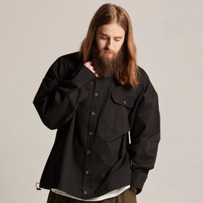 CB 아콘 스트링 셔츠자켓 (블랙)