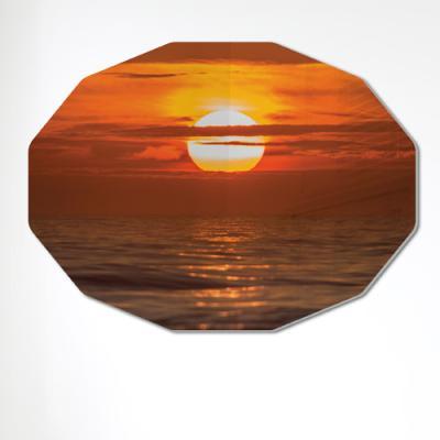 af377-폼아크릴액자78CmX56Cm12각형대형_떠오르는태양