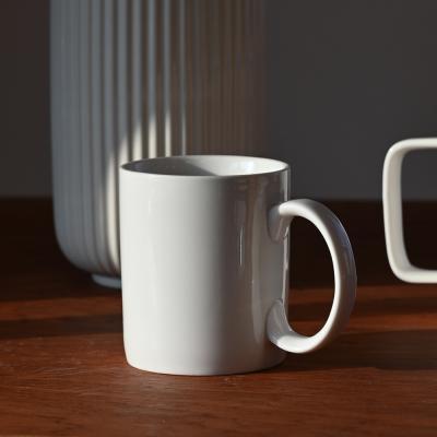 스노우 도자기 머그 컵 370ml