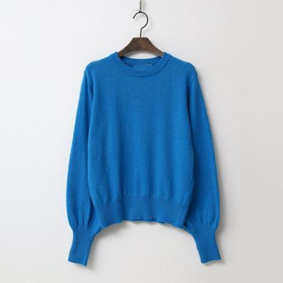 Wool Balloon Crop Sweater
