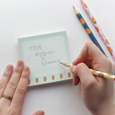 핑크풋 1000당근연필3본세트(B심)