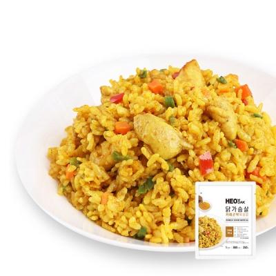[허닭] 닭가슴살 카레 곤약볶음밥 250g 1+1