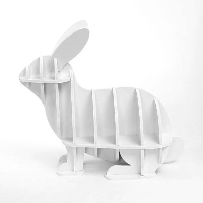 DIY 토끼 동물조형 선반 책장 인테리어 책꽂이