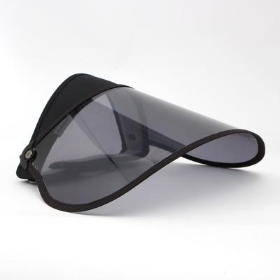 UV차단 휴대용 돌돌이 썬캡(블랙) /자외선차단모자