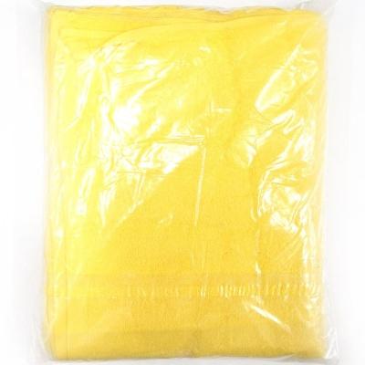 미용타올 10P 행주 노란 높은물흡수력 부드러운촉감
