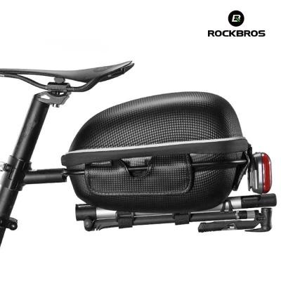 락브로스 자전거가방 하드쉘 방수 짐받이가방 F2-1BK