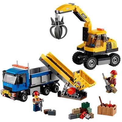 [레고 시티] 60075 굴착기와 트럭