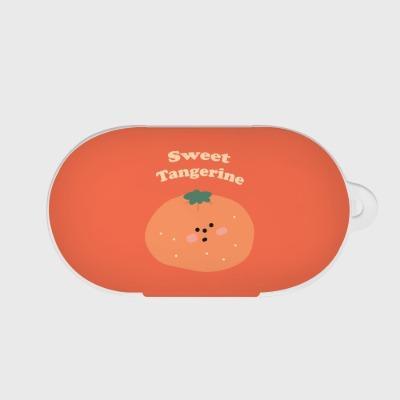 sweet tangerine 갤럭시 버즈케이스