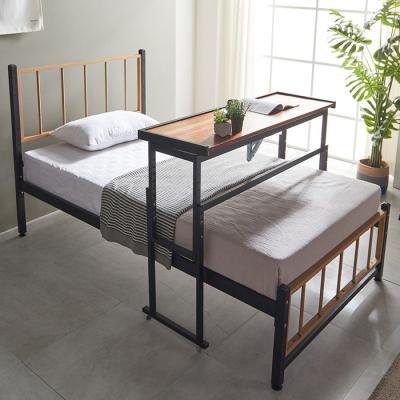 내방에 딱 철제 슈퍼싱글침대 +각도조절 테이블