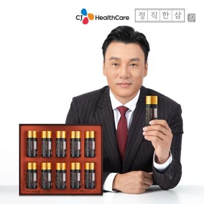 정직한삼 정성가득 6년근홍삼 산삼배양근 75ml x 10병