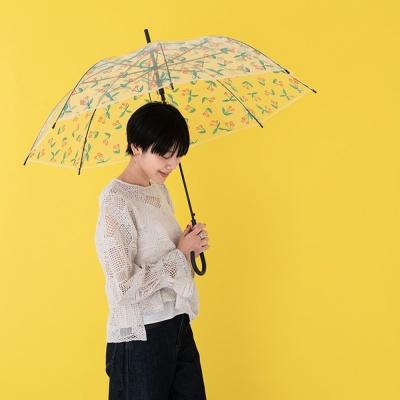 wpc우산 체리 투명 장우산 PT-020