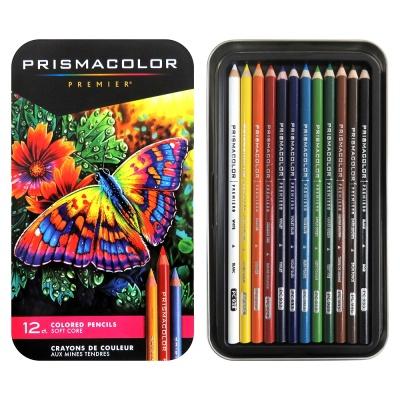 프리즈마 유성색연필 12색세트