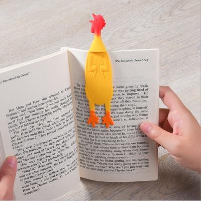 책이랑 꼬끼오 실리콘 책갈피