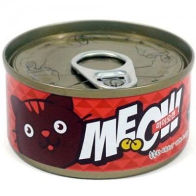 고양이 간식 캔 통조림 미아오캔 게살 참치 85g