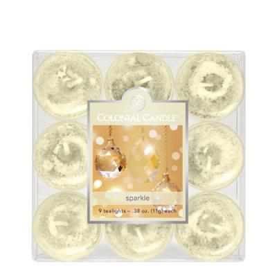 COLONIAL CANDLE 1865 티라이트 9pk 캔들 반짝임