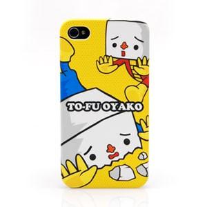 iBurg 아이폰4s/4 겸용 TO-FU 케이스-오렌지옐로우(소프트코팅으로 그립감이 좋은 케이스)