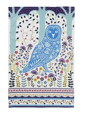 [울스터위버스] Woodland Owl 코튼 티타올