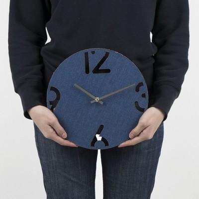 [퍼니피쉬]심플데님시계 - 블랙