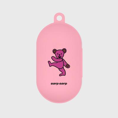 Hi bear-pink(buds jelly case)