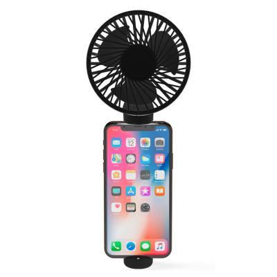 아이정 M-fan 휴대용 손선풍기 탁상형 거치형 블랙