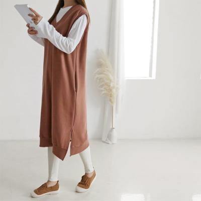 Gimo Twin Vest Dress - 기모안감