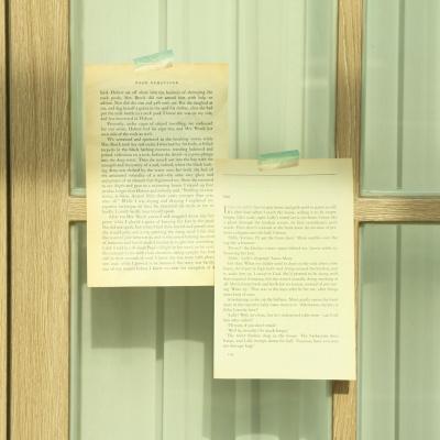 빈티지 영문 페이퍼 영어 종이 감성 홈 카페 촬영소품