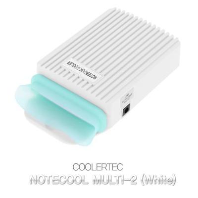랩탑List 쿨러텍 NOTECOOL MULTI-1 화이트 휴대용쿨러