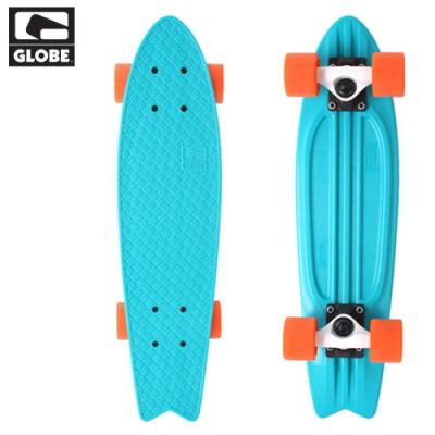 [GLOBE] 23 BANTAM ST X TURQUOISE/WHITE/ORANGE X MINI PL CRUISER COMPLETE