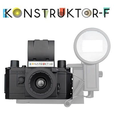 [로모그래피정품] Konstruktor F - 컨스트럭터 F DIY SLR 카메라 / 조립식카메라 / 플래시연결어댑터장착