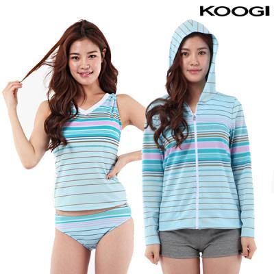 쿠기 여성 비치 수영복 KF-H219