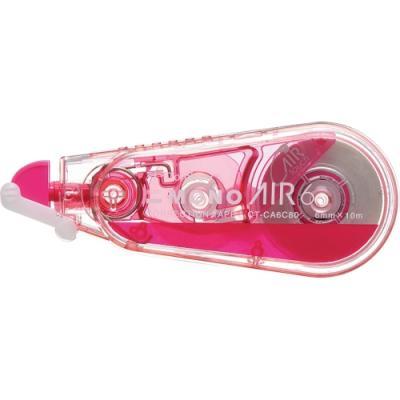 에어수정테이프6mm 핑크 (톰보)(개) 331653