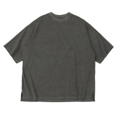 CB 아콘 피크먼트 오버핏 티셔츠 (카키)