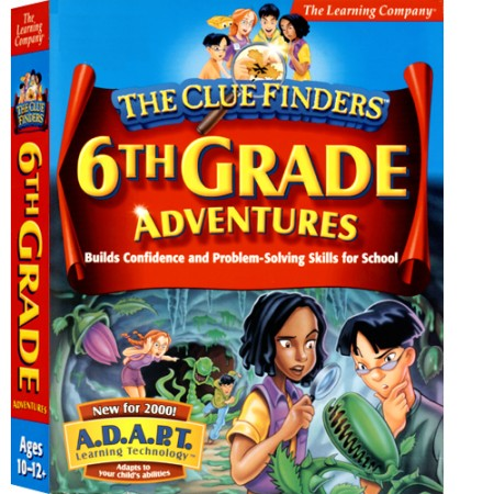 [CD-ROM] Clue Finders 6th Grade - 초등 6학년 종합학습