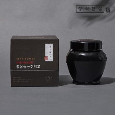 정직한삼 정성가득 6년근 홍삼 녹용 진액고 1000g