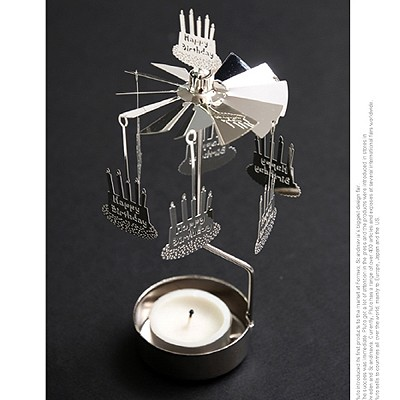 ROTARY CANDLE HOLDER HAPPY BIRTHDAY[캔들홀더]