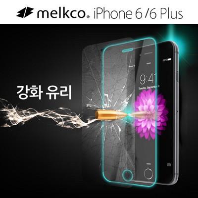 [출시기념 할인]멜코 아이폰6 9H 강화유리 액정보호필름{APIP6FUHSPCC3}