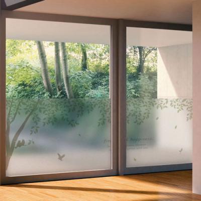 ph581-나뭇잎이흩날리는나무숲_글라스시트지